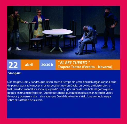 Certamen de Teatro: El Rey Tuerto