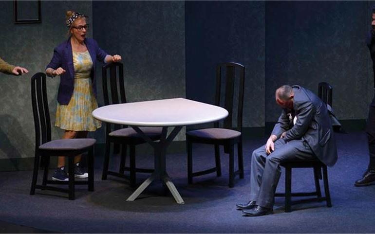 El rey tuerto, última representación del XXII Certamen Nacional de Teatro para Aficionados Ciudad de Reinosa