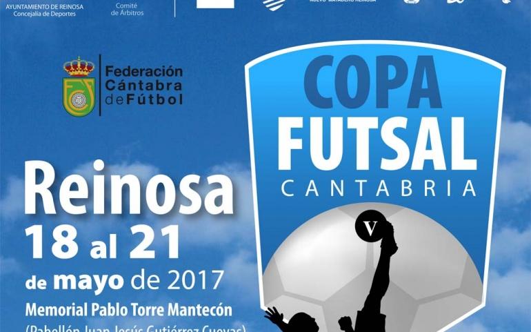 Reinosa acogerá la V Copa FUTSAL del 18 al 21 de mayo