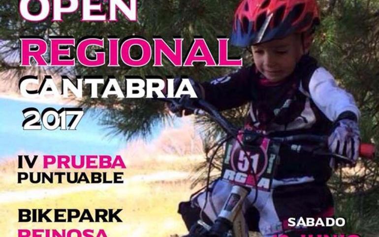 Reinosa acoge este sábado una nueva prueba del Campeonato Regional de Bike Trial