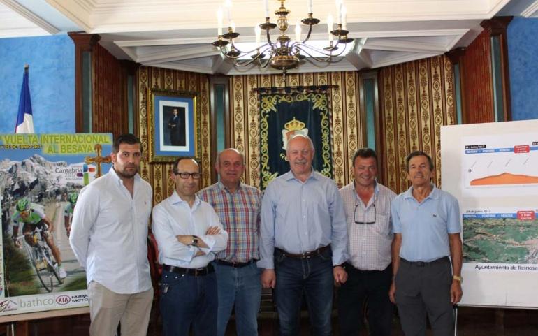 Reinosa acogerá una contrarreloj por equipos de la Vuelta Internacional al Besaya