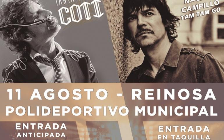 Ya a la venta las entradas del concierto de Coti y Nacho Campillo en Reinosa