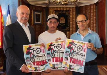 Los mejores pilotos de bike trial disputan en Reinosa una nueva prueba del Campeonato de España
