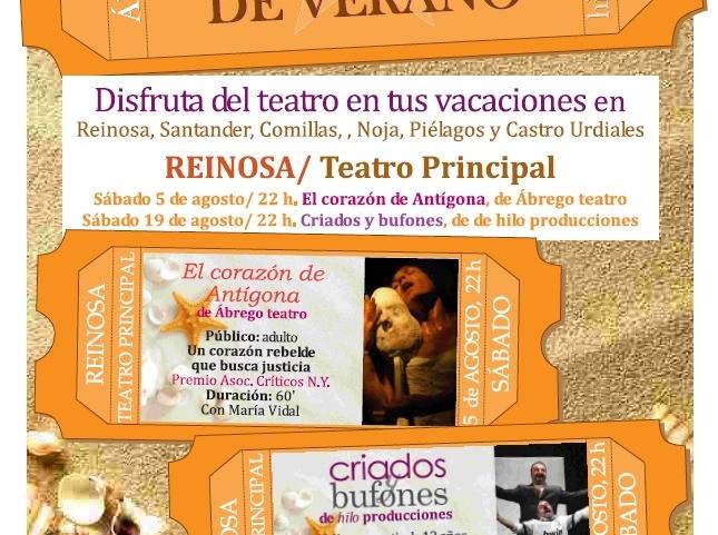 """El """"Teatro de una Noche de Verano"""" llega a Reinosa"""