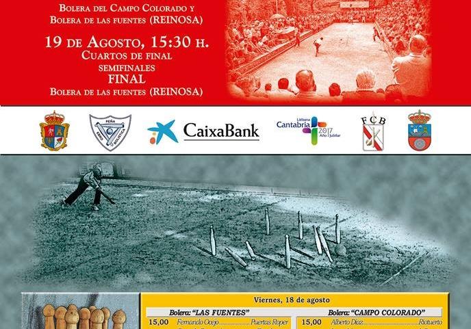 Campeonato Regional de Bolo Palma. 1ª Categoría Individual.