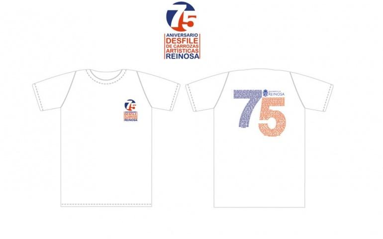 El Ayuntamiento y la Federación de Peñas distribuirán camisetas alusivas al 75 aniversario