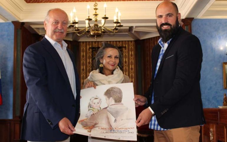 Una acuarela de Alicia Cañas ilustra un año más el cartel del Dia de Campoo