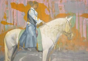El Concurso Nacional de Pintura Casimiro Sainz premia la obra del creador Abdul Jabbar Al Alí