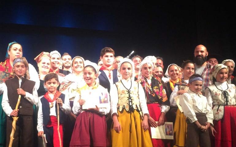 El Teatro Principal acoge este domingo el Certamen Folclórico