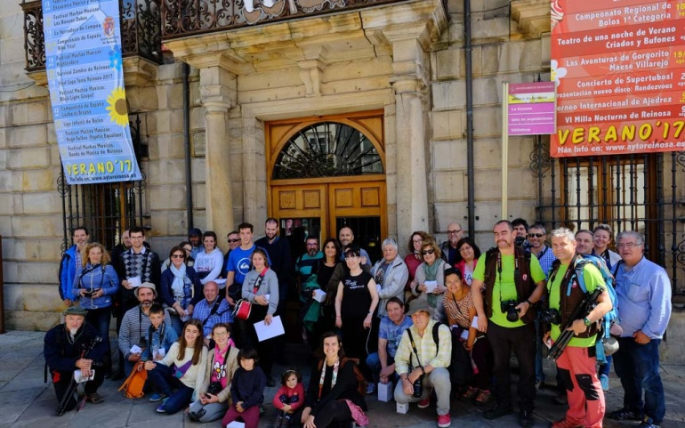 Los aficionados a la fotografía se dieron cita en el Rally Ciudad de Reinosa