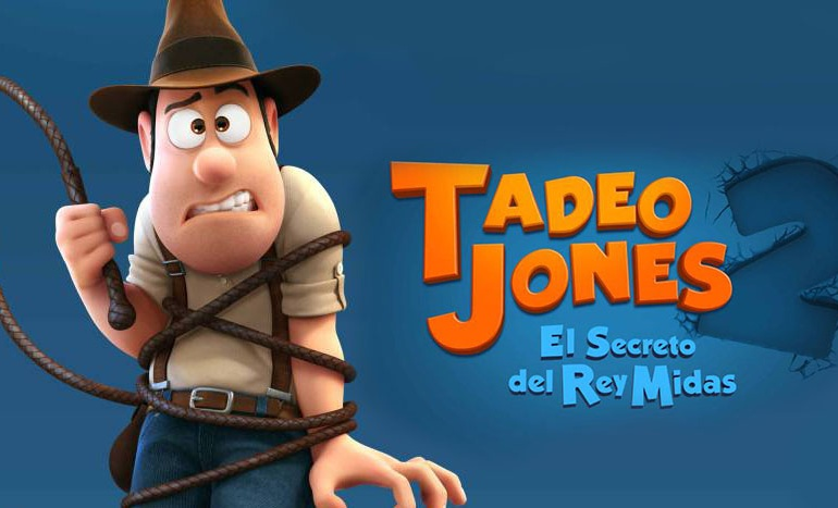 Cine Infantil: Tadeo Jones 2. El secreto del Rey Midas