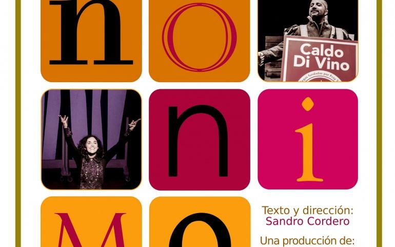 Ciclo Cultural de Otoño – Teatro: Anónimo