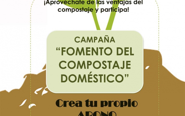 Campaña para incentivar el compostaje doméstico
