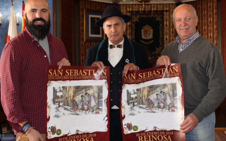 Una acuarela de Alberto Gallo ilustra el cartel anunciador de la fiesta de San Sebastián
