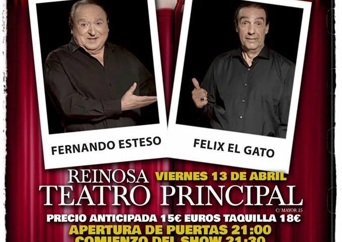 """Fernando Esteso y Félix El Gato traen a Reinosa su obra """"Dos hombres y un vespino"""""""