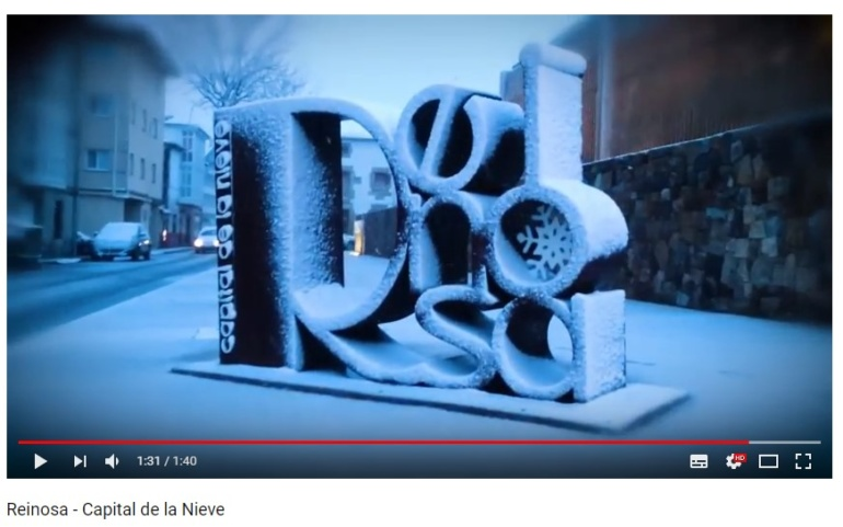 Nuevo vídeo promocional -> Reinosa – Capital de la Nieve