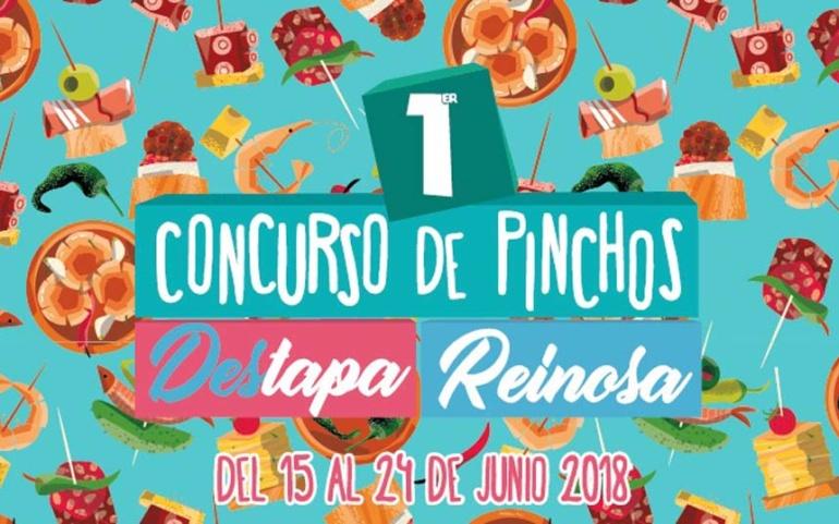 """Los pinchos inscritos en el concurso """"DesTapa Reinosa"""" se podrán degustar desde este fin de semana"""