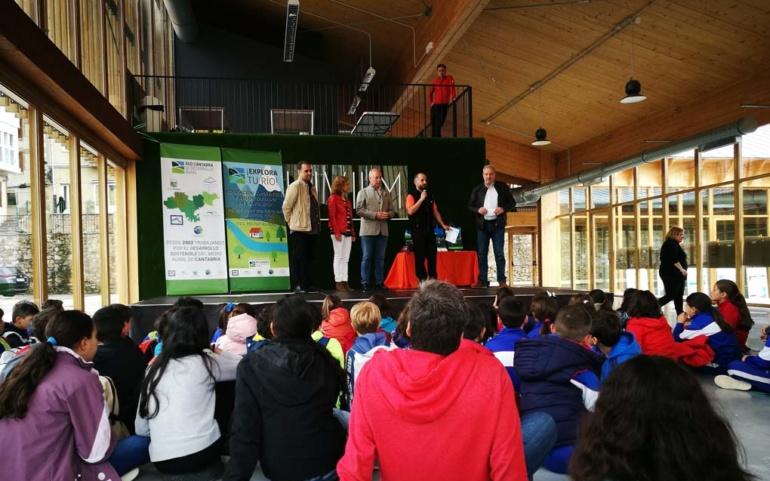 Explora tu río! celebró en Reinosa su 3er encuentro con más de 300 escolares