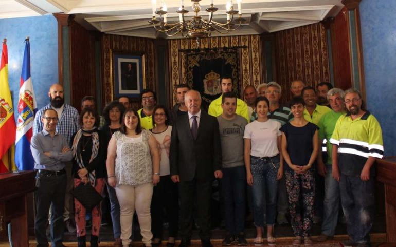 El Ayuntamiento contrata a 28 nuevos trabajadores a través del programa de Corporaciones Locales