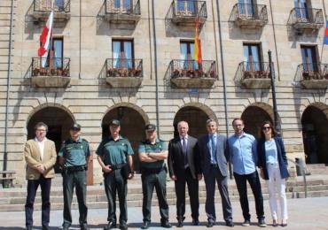 Reinosa se situó el pasado año con una tasa de criminalidad 10 puntos por debajo de la de Cantabria