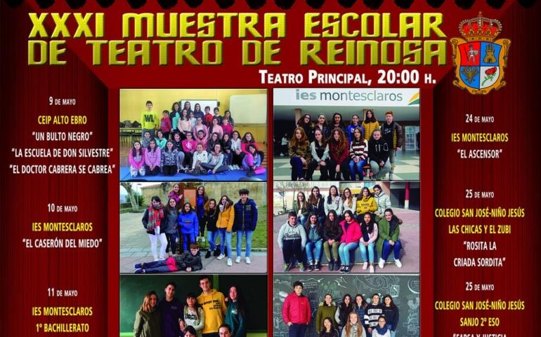 La Muestra Escolar de Teatro de Reinosa clausura este viernes su XXXI edición