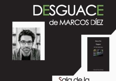 Marcos Díez presenta en Reinosa el poemario Desguace
