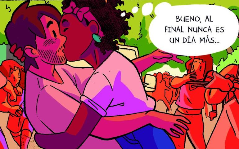 """La historieta """"Otro día más"""" gana el III Concurso de Cómic Ciudad de Reinosa"""