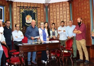 La Corporación municipal se posiciona a favor de la construcción de la línea de tren AVE entre Reinosa y Aguilar