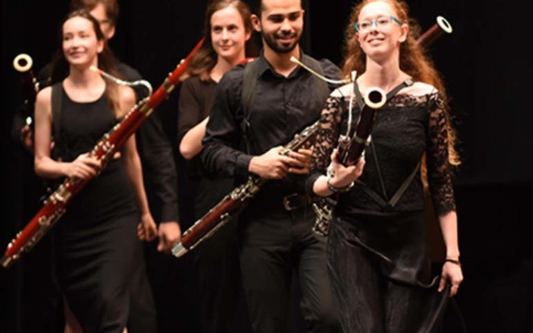 Concierto del Encuentro de Música y Academia de Santander en el Teatro Principal