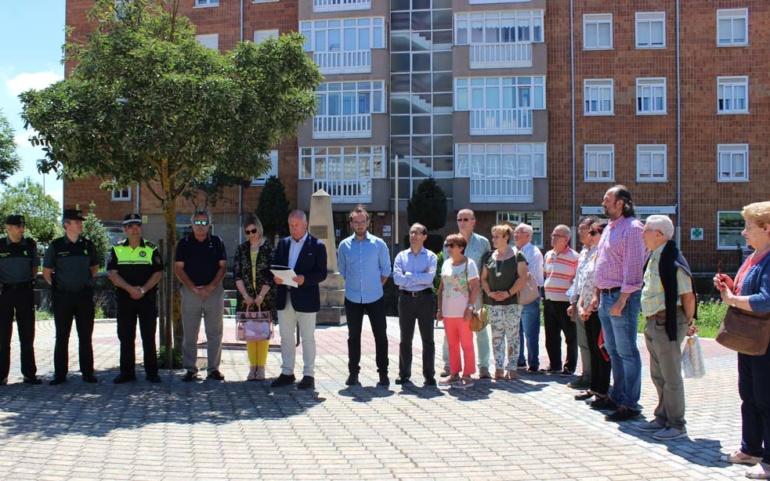El Ayuntamiento de Reinosa recuerda a las víctimas del terrorismo
