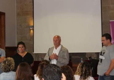 Emprendedores de la comarca hablaron de su experiencia profesional ante las Lanzaderas de Empleo de Cantabria