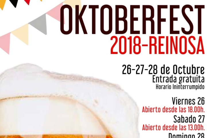 El Oktoberfest aterriza en Reinosa el próximo fin de semana