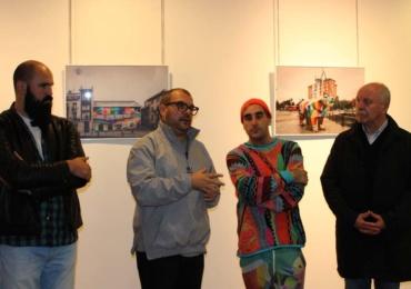 Inaugurada en la Casona una muestra sobre la obra de Okuda San Miguel