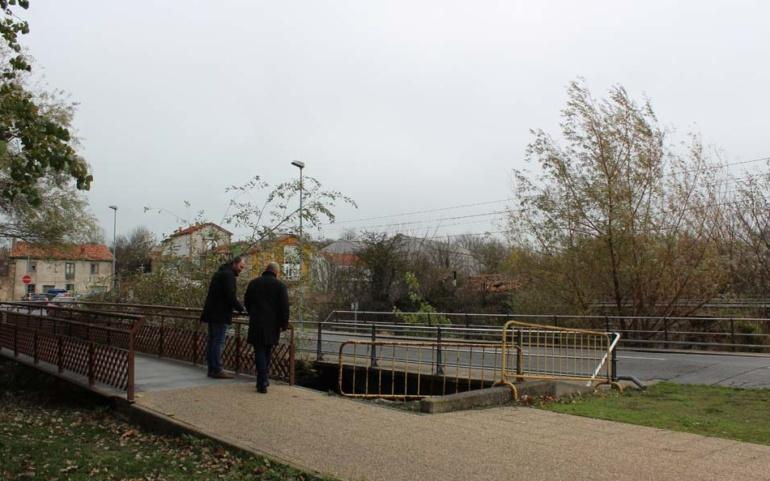 El Ayuntamiento de Reinosa regenerará el entorno de la pasarela del Campo Colorado