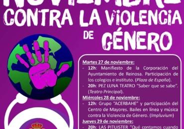 El Ayuntamiento de Reinosa programa una semana de actividades contra la violencia de género