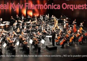 Gran Concierto de Año Nuevo a cargo de la Real Kyiv Filarmónica Orquesta