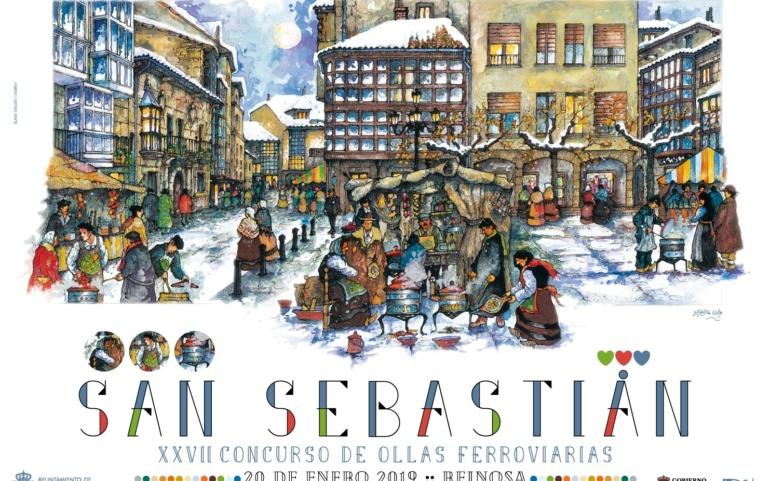 Reinosa conmemora este domingo la festividad de San Sebastián