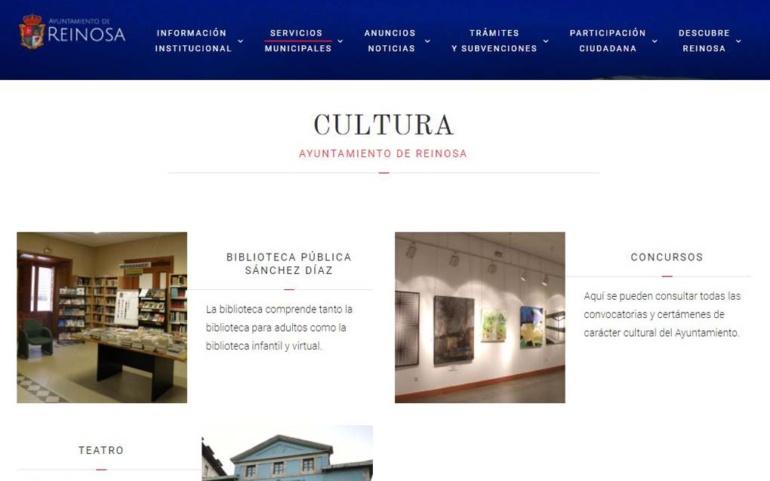 La Sánchez Díaz enseña las aplicaciones del Ayuntamiento de Reinosa y del servicio eBiblio