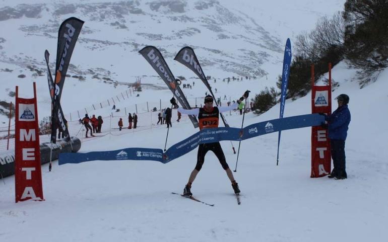 """El Triatlón Blanco Reinosa Alto Campoo diseña un nuevo circuito de esquí de fondo """"mas asequible"""""""