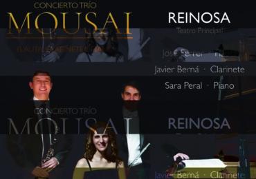 Concierto del Trío Mousai en el Teatro Principal