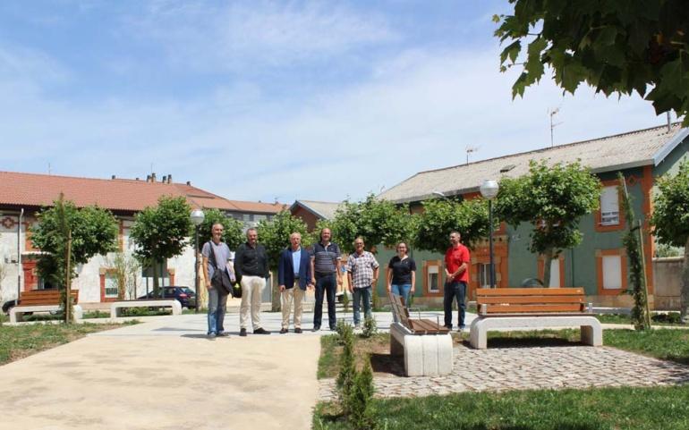 El Ayuntamiento de Reinosa recepciona la obra de la Plaza de la Concordia