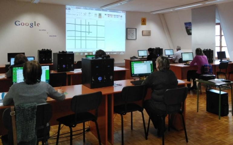 Informática para principiantes en la Biblioteca Sánchez Díaz