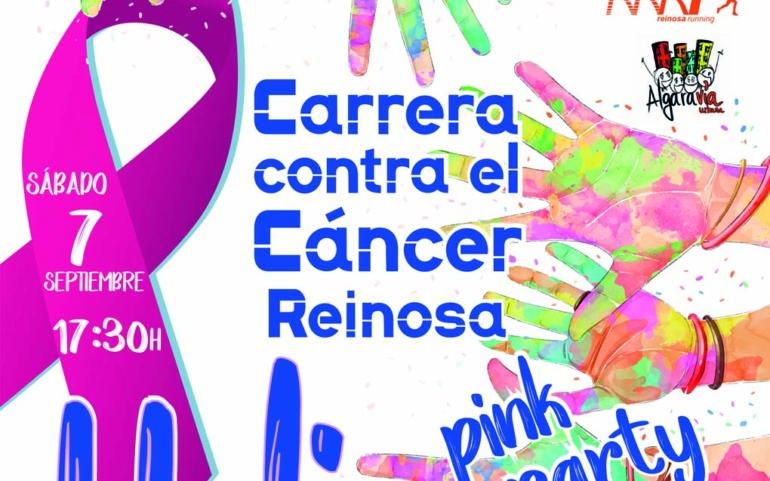 Carrera Holi en Reinosa en beneficio de la lucha contra el cáncer