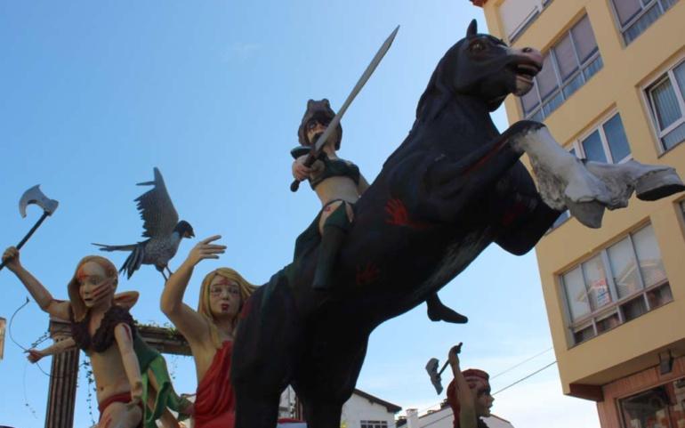 """La carroza """"Valkirias"""" gana el Concurso de San Mateo 2019"""