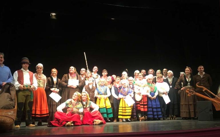 Los intérpretes del folclore regional se dieron cita en el Certamen de San Mateo