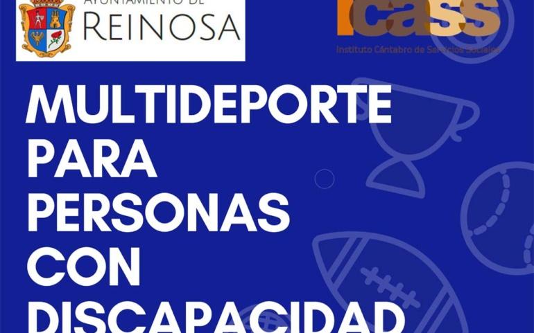 Próxima puesta en marcha del II Programa Multideporte para Personas con Discapacidad