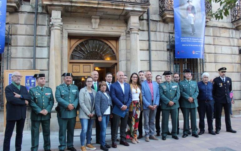 Inaugurada en Reinosa una muestra sobre la presencia de la Guardia Civil en Campoo