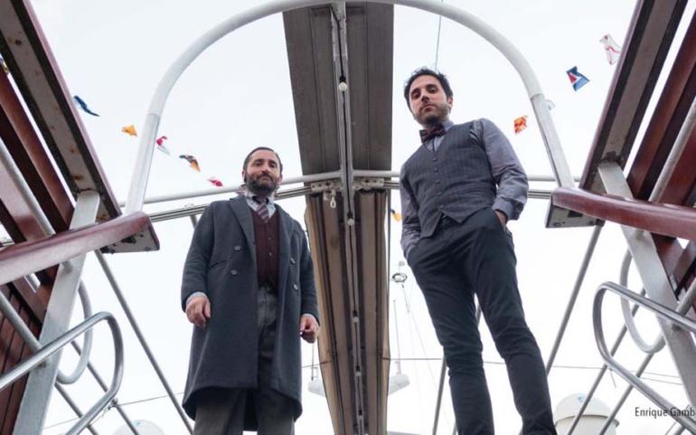 """Hugo Selles y Javier Uriarte traen al Ciclo de Otoño su versión de """"Novecento. La leyenda del pianista en el océano"""""""