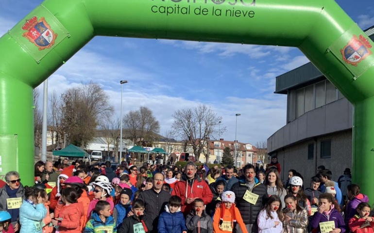 Carrera solidaria a beneficio de Cáritas