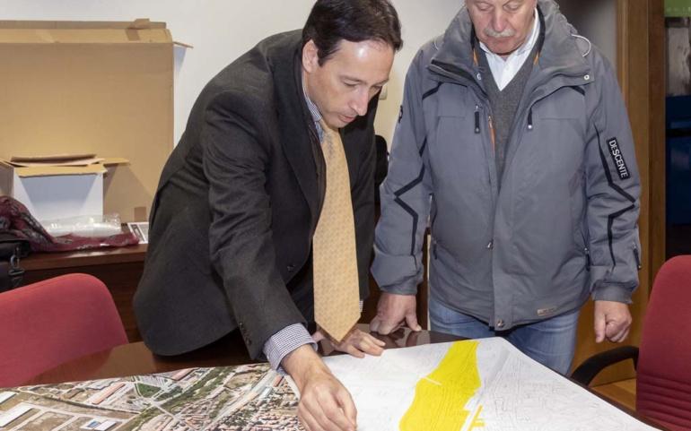 El Gobierno colaborará con Reinosa en la limpieza inmediata de los cauces del Híjar y el Ebro